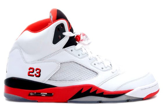 "Image of Air Jordan 5 Retro ""Fire Red"""