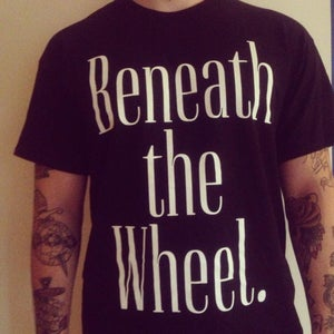 Image of Beneath The Wheel shirt black