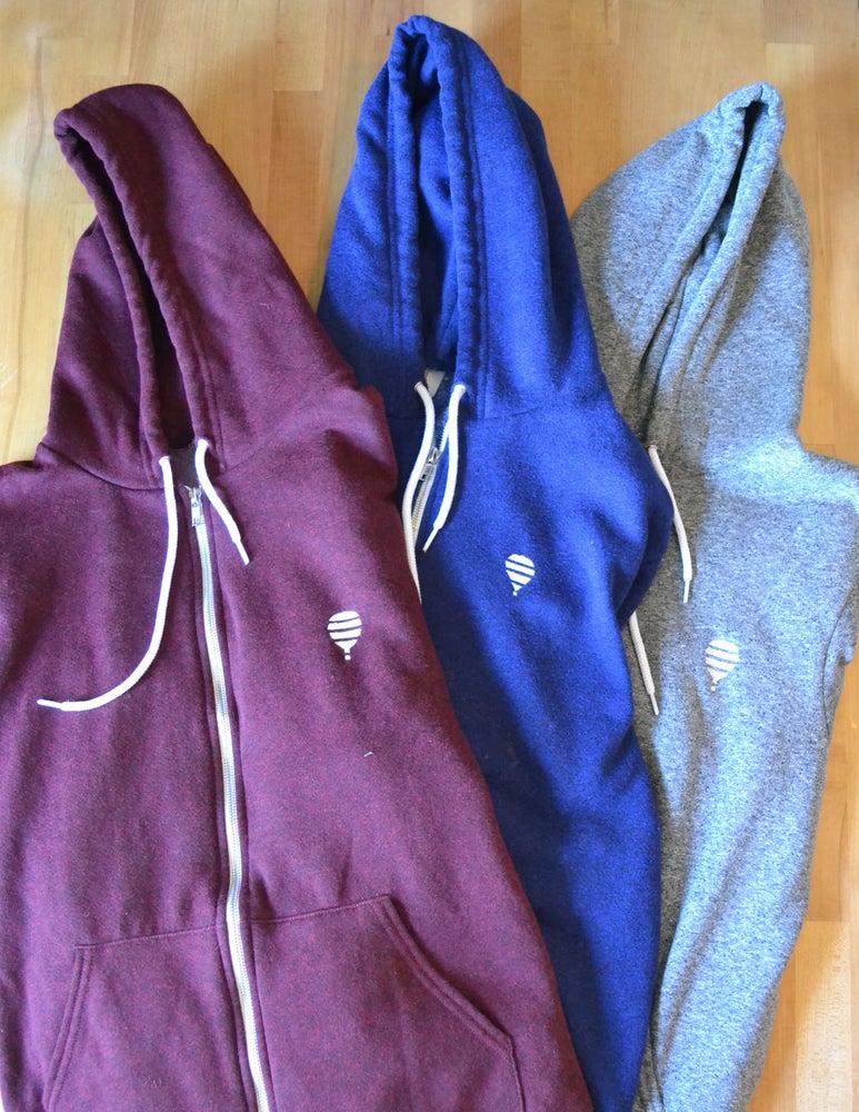 Image of Zip-up Hoodie | Blue