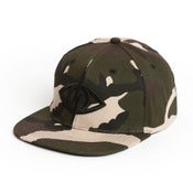 Image of THIRD EYE SNAPBACK [ camo ]