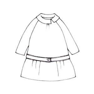 Image of patron CHELSEA tunique ou robe