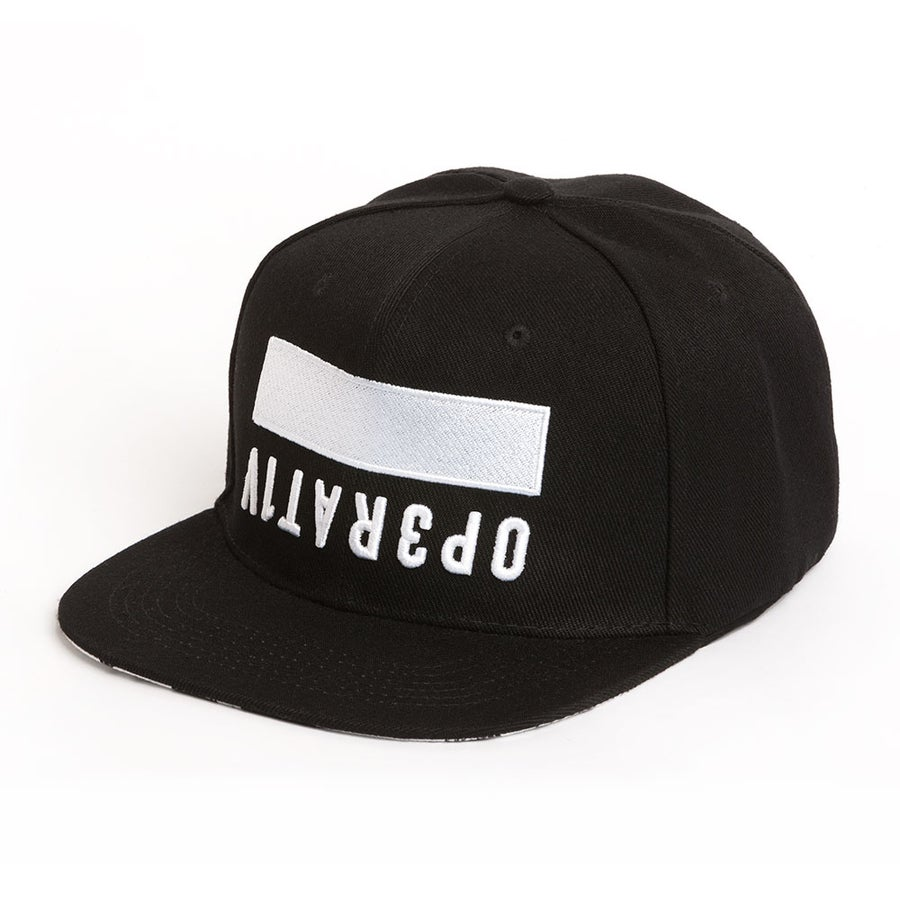 Image of BLOC SNAPBACK [ black ]