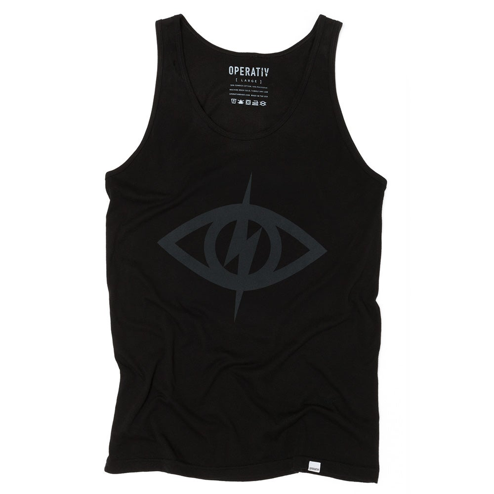 Image of THIRD EYE TANK [ black ]