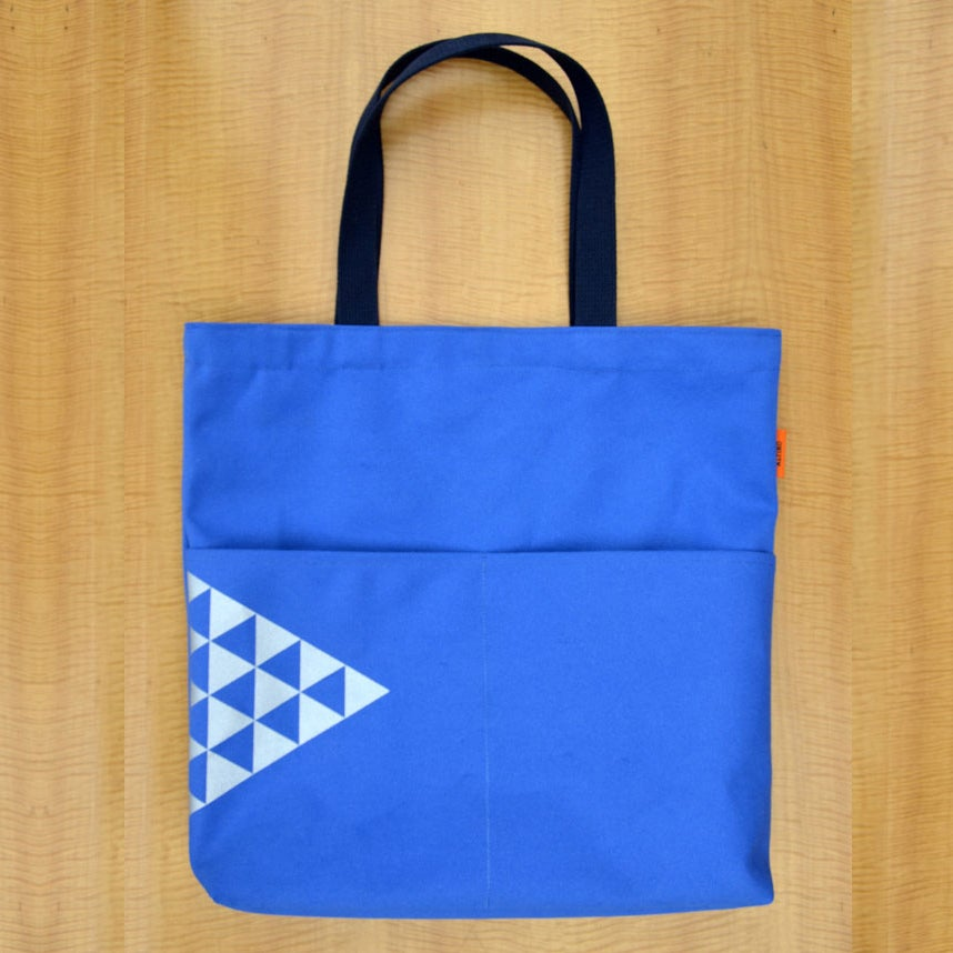 Image of Triangles pattern utility bag