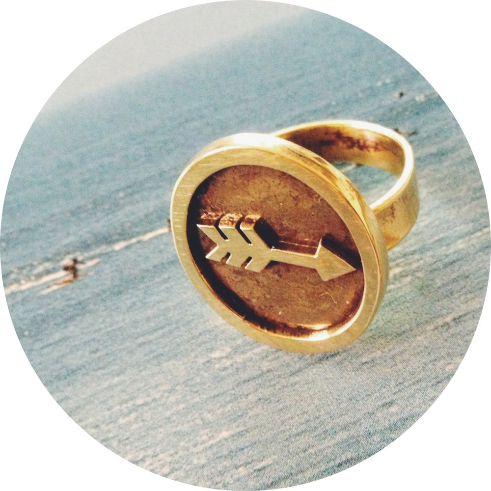 Image of CREST RING ///  My Way