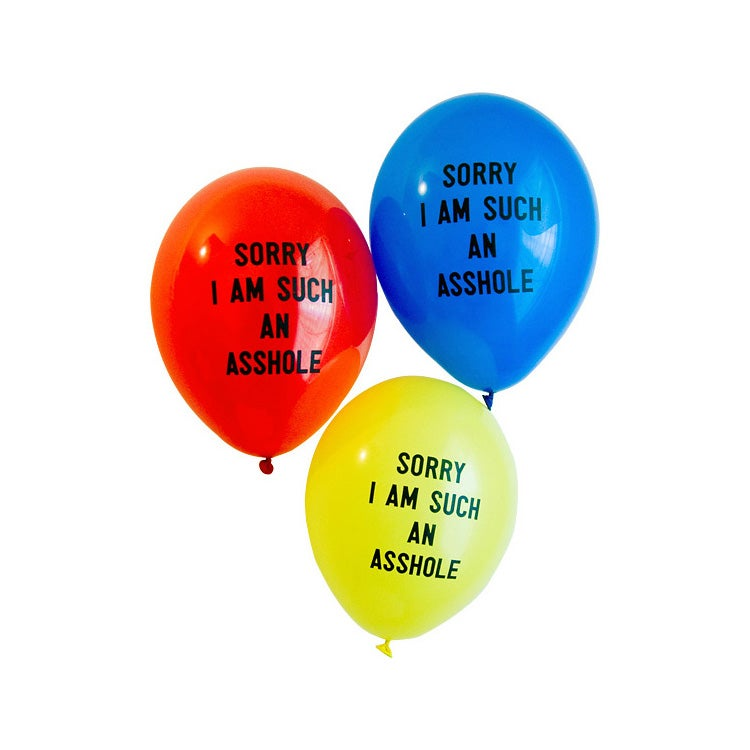 Image of SORRY I AM SUCH AN ASSHOLE