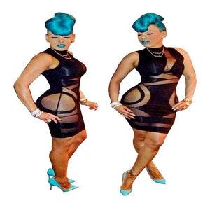 Image of Black Killa Dress