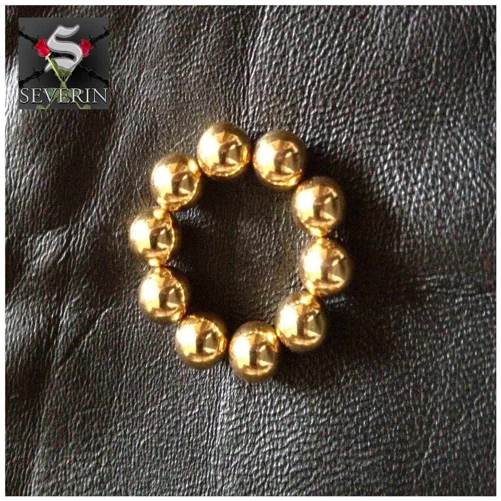 Image of Pair of Gold Nipple Magnets/Clamps