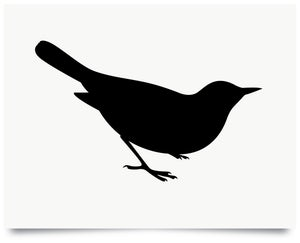Image of Blackbird print