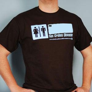 Image of My - Has Crohn's Disease T-Shirt
