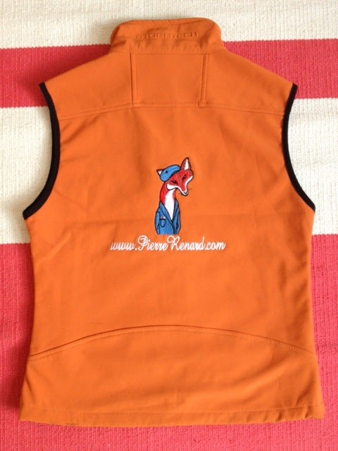 Image of Custom Embroidered Softshell Vest