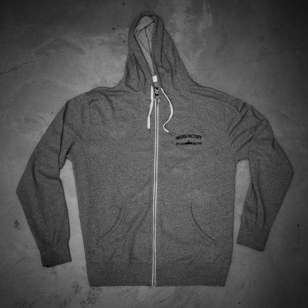 Image of GREY FACTORY - ZIPPER HOODIE