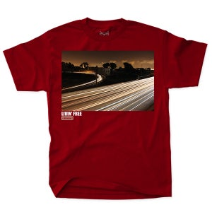 Image of Livin' Free - Red Tee