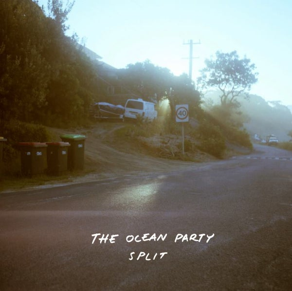 Image of the ocean party 'split' CD