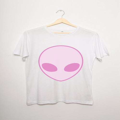 Image of Cute Alien Unisex Tee