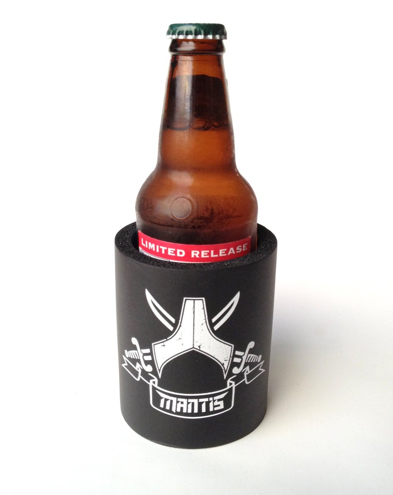 Image of Mantis - Beverage koozie Pirate flag
