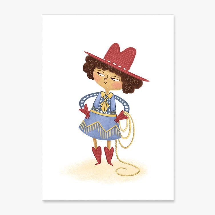 Image of Yeehaw- A5 or A4 Print