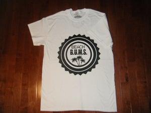 Image of Beach B.U.M.S. White T-shirt