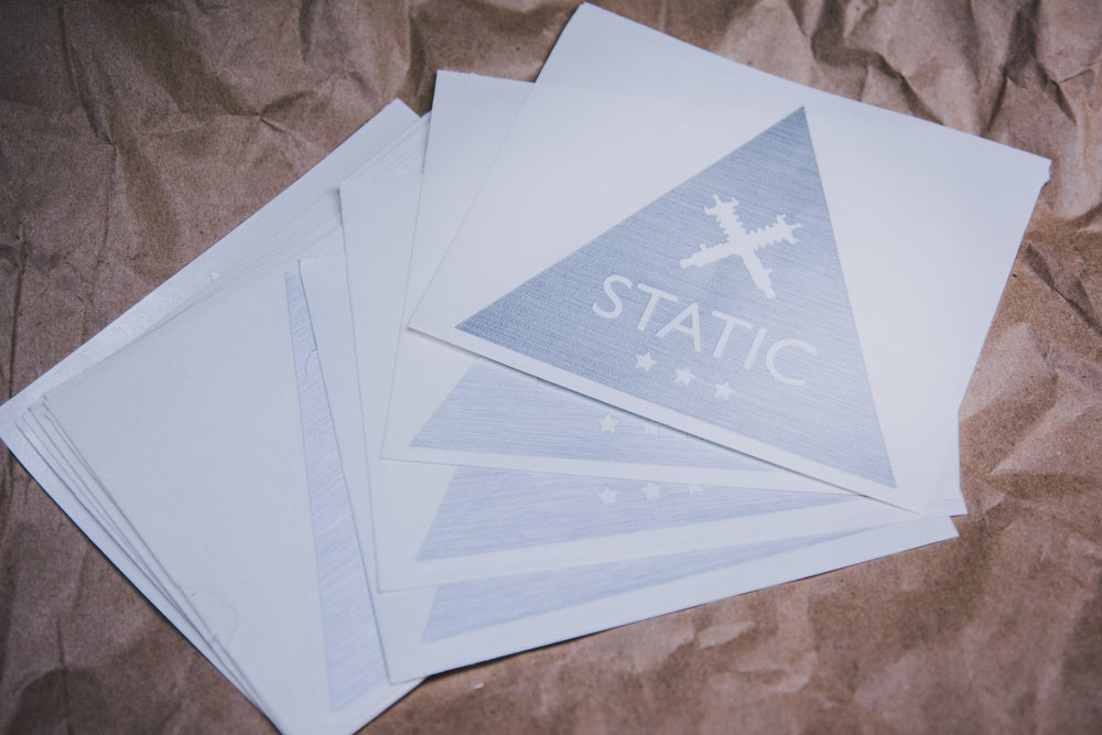 Image of Static Triangle Decal