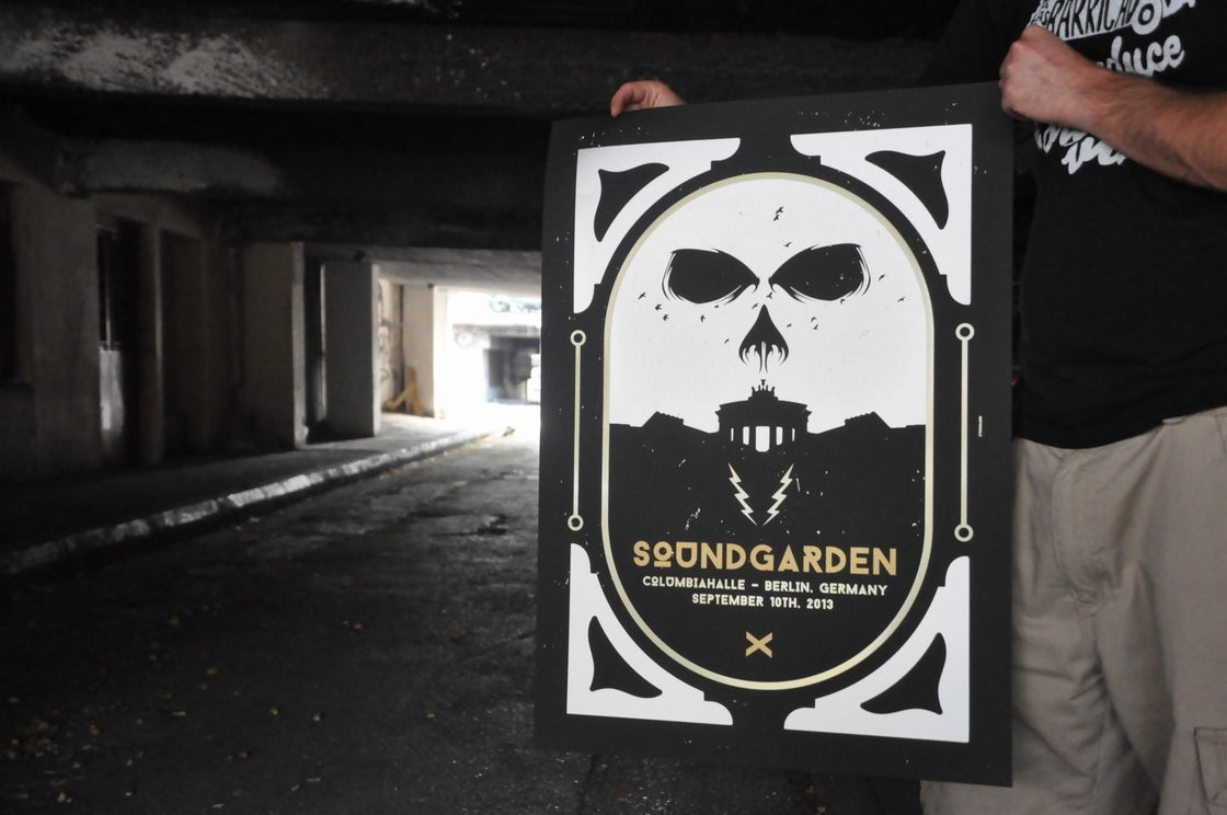 Image of Soundgarden by Indyvisuals