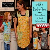 Image of With a Dash of Love Reversible Apron