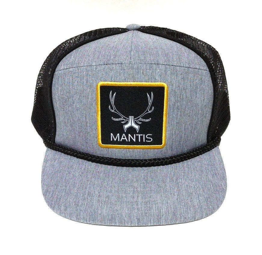 Image of ON SALE - SIGNATURE 5 PANEL SNAPBACK CHAMBRAY GRAY