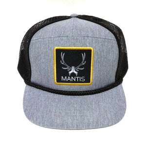 Image of SIGNATURE 5 PANEL SNAPBACK CHAMBRAY GRAY