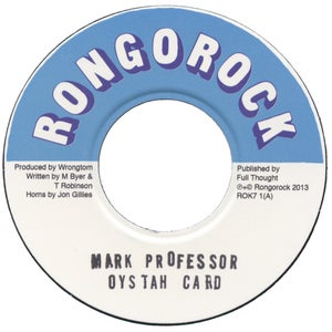"Image of Mark Professor - Oystah Card 7"""