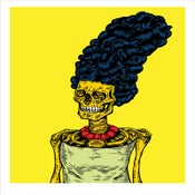 Image of THE TWISTED WORLD OF MARGE SIMPSON limited edition art-print