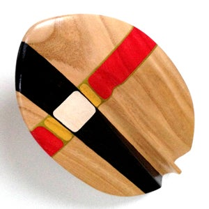 Image of Barrel Rider 2 Custom Stain/Artwork black/red