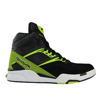 "Image of Reebok Pump Twilight Zone ""Black/Green"""