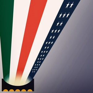 Image of USA vs. Mexico 2013 (Edition of 39)
