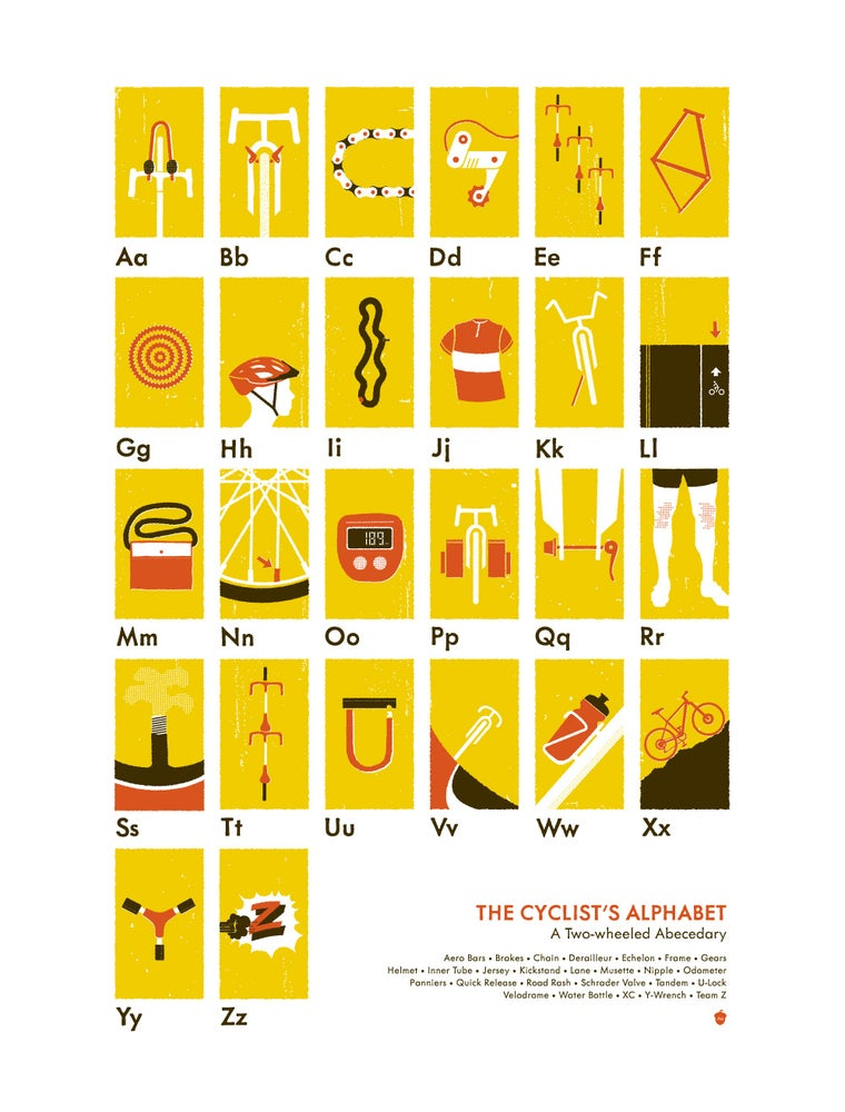 Image of The Cyclist's Alphabet