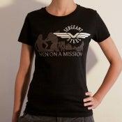 """Image of """"Men On A Mission"""" Girlie-shirt"""