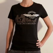"Image of ""Men On A Mission"" Girlie-shirt"