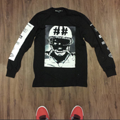 Image of Hood By Air Football Long Sleeve