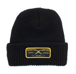 Image of Mantis authentic patch beanie black