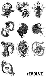 Image of rEVOLVE prints & framed pieces