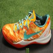Image of Nike Kobe 8 system+ as bright orange