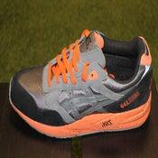 Image of Asics gel saga grey/orange