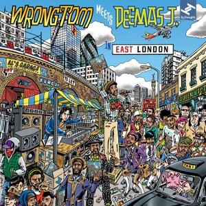 "Image of Wrongtom Meets Deemas J ""In East London"" CD"