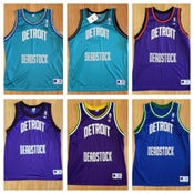 Image of Vintage Champion Jersey X Detroit Deadstock Jersey (30 Colorways!)