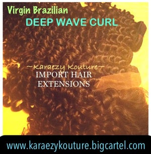 Image of Virgin Brazilian DEEP WAVE CURL  *Limited Stock*