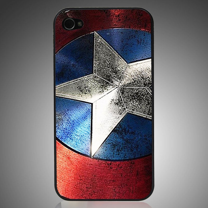 Image of IPhone 4/4s/5 Case-Captain America