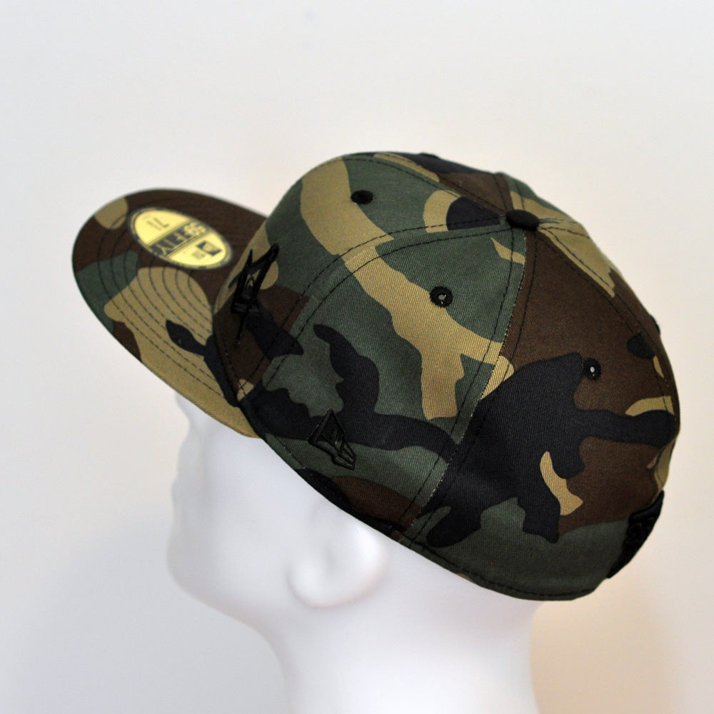Image of Special Edition Woodland Camo fitted flawless