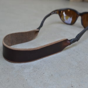 Image of Horween Leather Sunglasses Strap (Chromexcel)