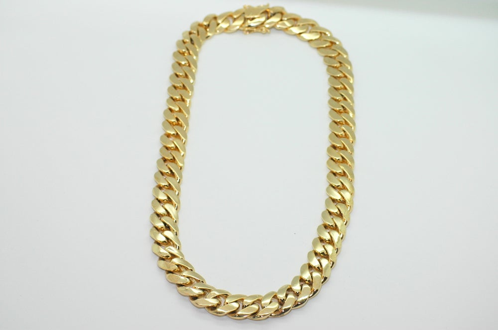Image of 20mm Large Cuban Link chain