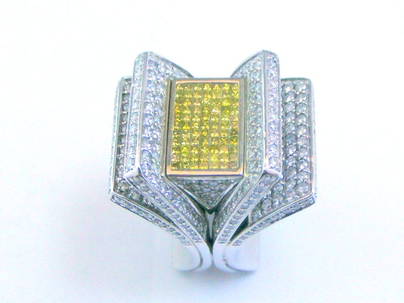 "Image of Mens ""Moderno"" Ring"