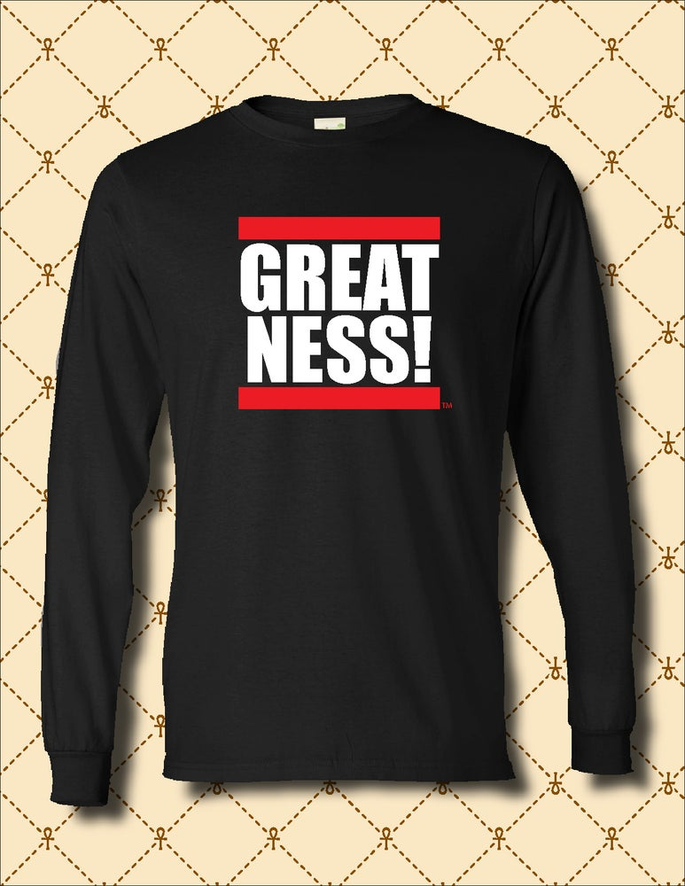 Image of MEN'S GREATNESS LONG SLEEVE