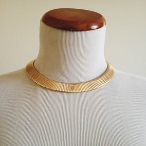 Image of Gold Collar Necklace